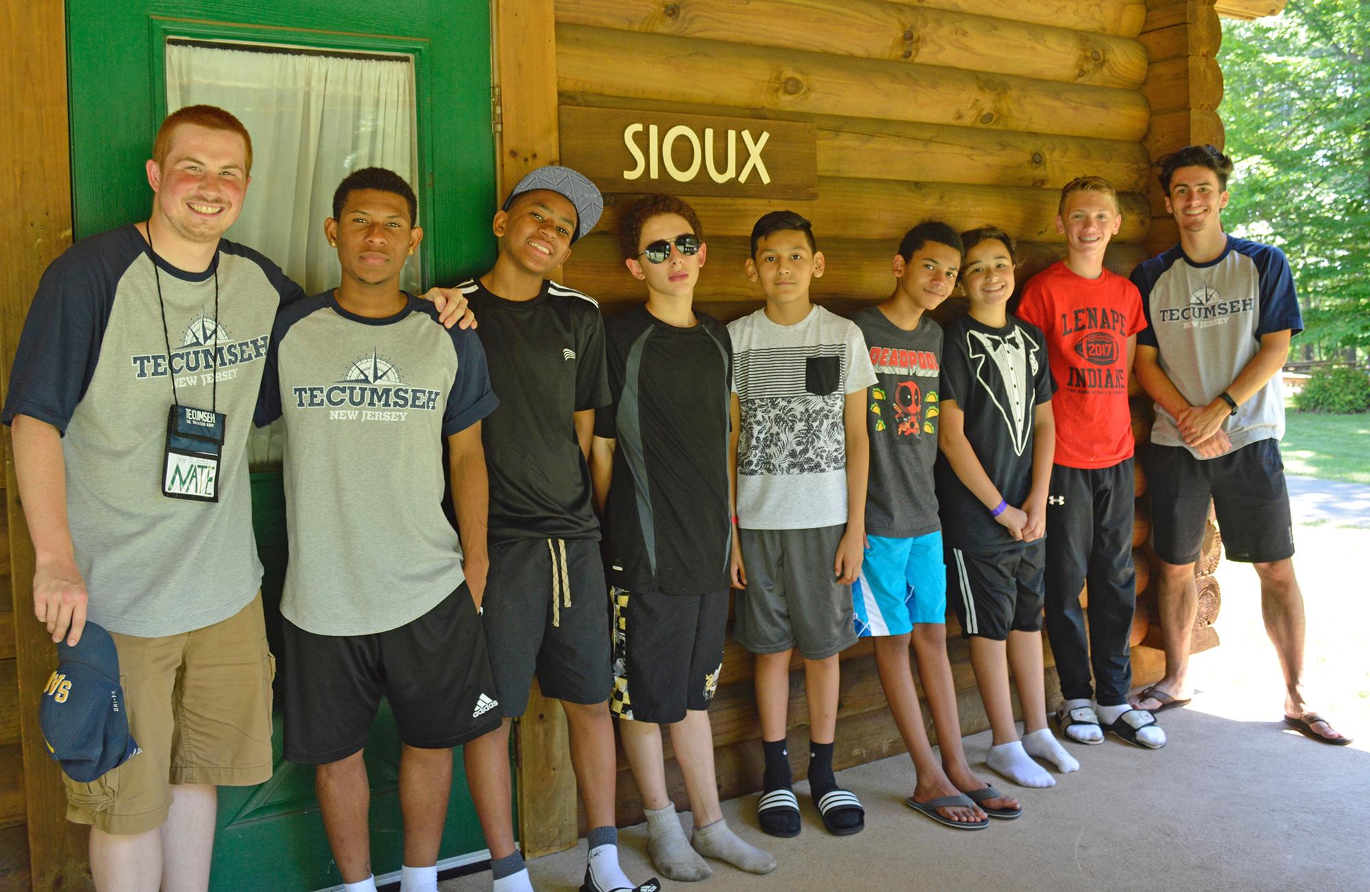 Cabins Camp Tecumseh